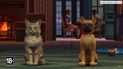 Симс 4 Кошки и Собаки