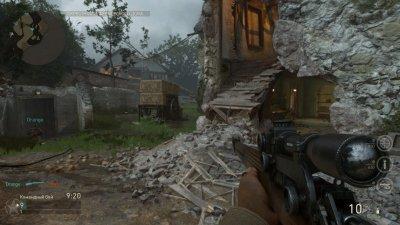 Call of Duty WWII Режим Зомби Мультиплеер