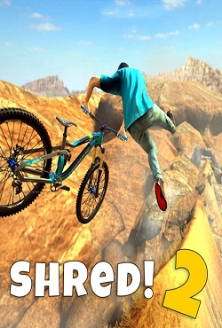 Shred 2 Freeride Mountainbiking